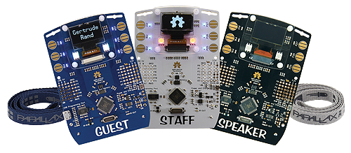 SHA2017 Badge — A Hackable Conference Badge with E-paper Display