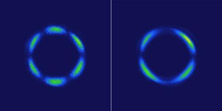 The First 3D Quantum Liquid Crystals