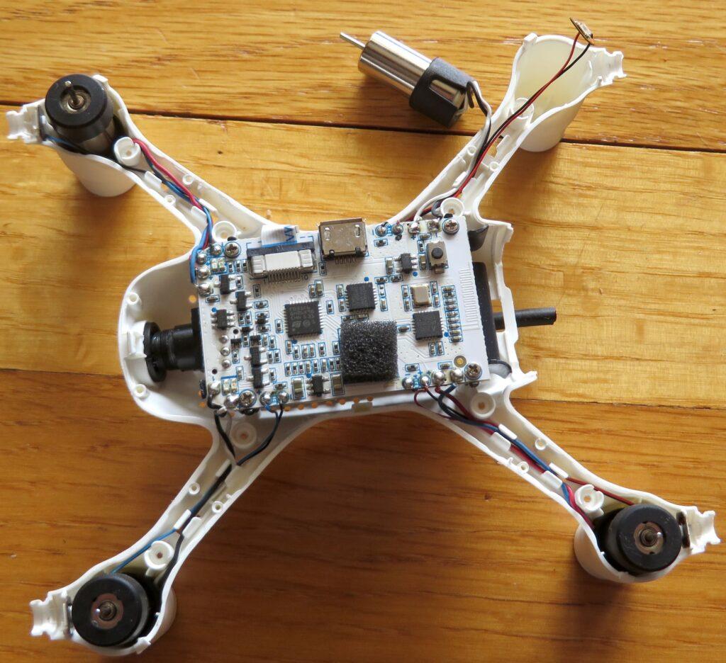 FPV drone teardown