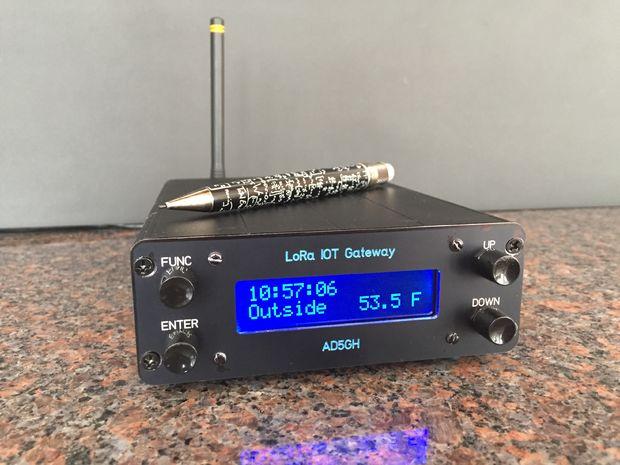 LoRa IOT Home Environment Monitoring System