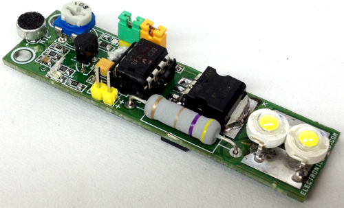 Sound Activated LED Light With Timer