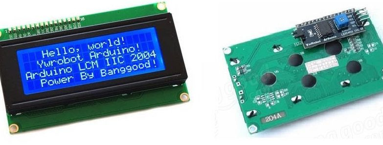 Real Time Clock On 20×4 I2C LCD Display with Arduino