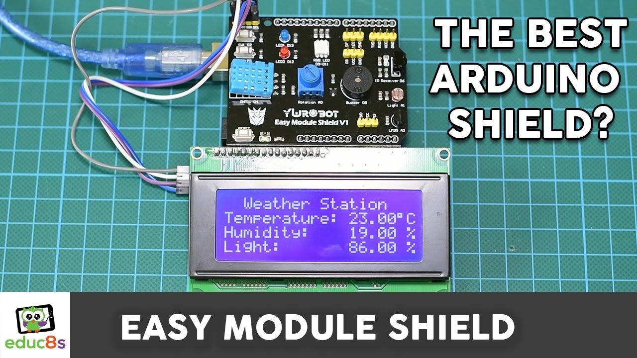Arduino Easy Module Shield Tutorial – Is this the best Arduino Shield