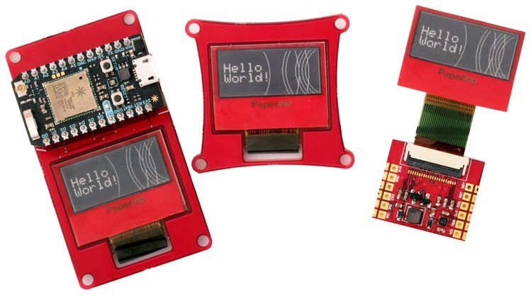 Paperino, The ePaper Display Shield