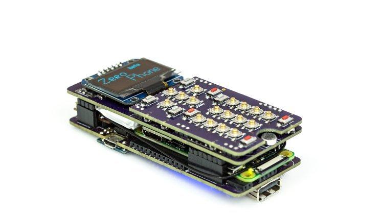 ZeroPhone, A Raspberry Pi-Based Open Source Smartphone