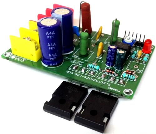 High Voltage-Current Half Bridge Driver Using IR2153 & IGBT