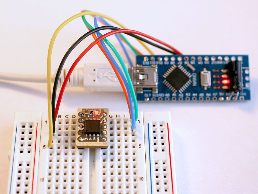 Breadboard Friendly ATTiny85