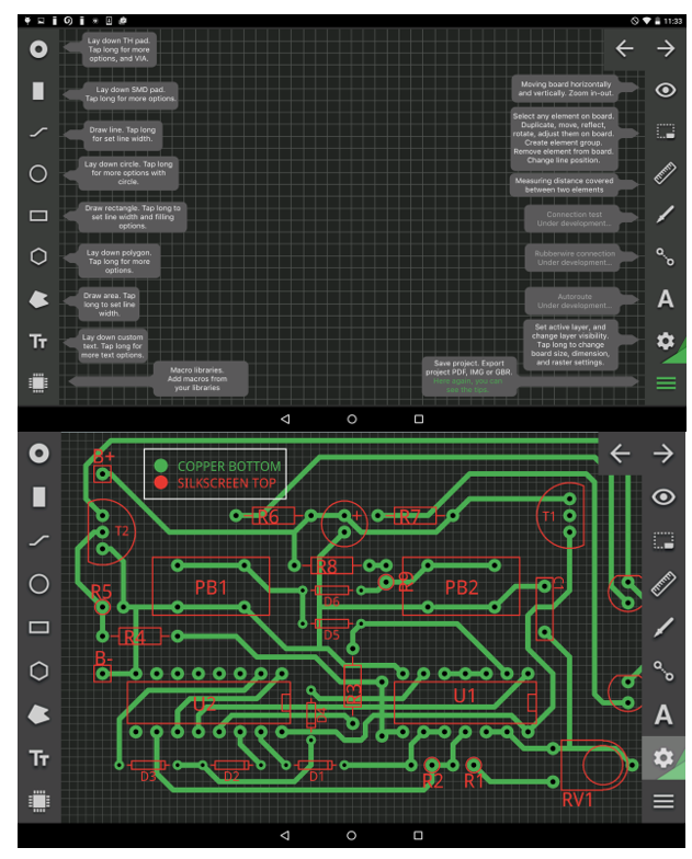 PCB Droid - First Mobile PCB Designer App - Electronics-Lab
