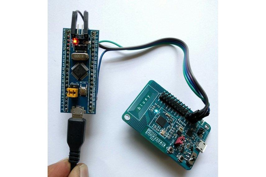 using uart terminal to push firmware