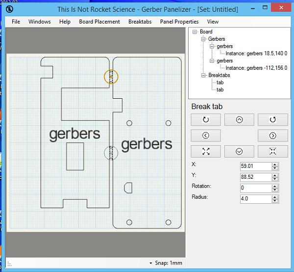 Panelization – using GerberPanelizer on Windows