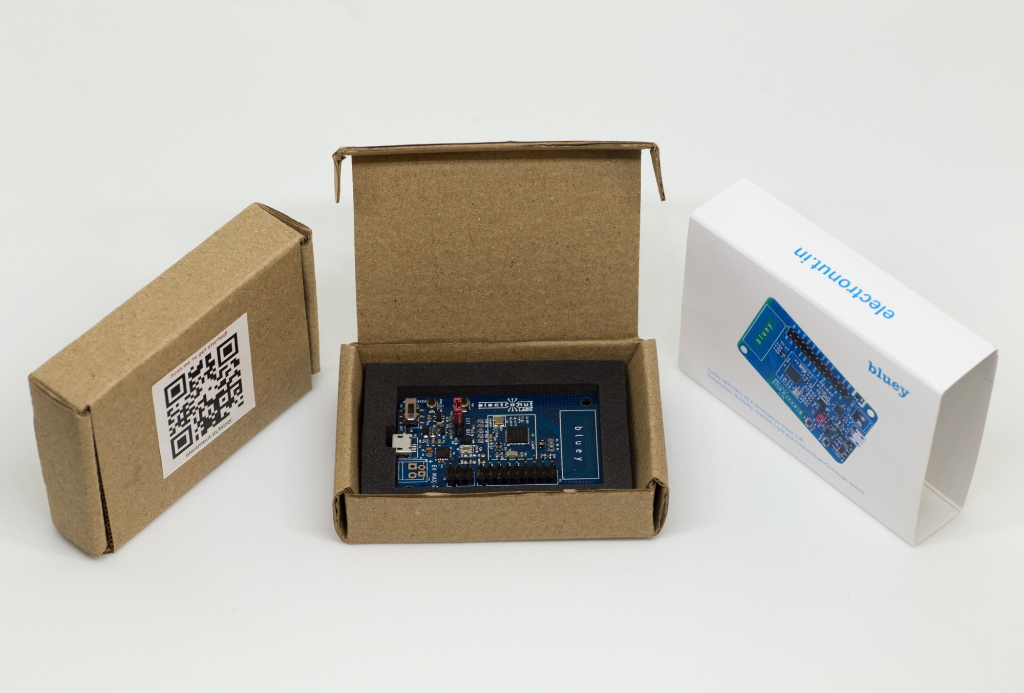 Bluey, BLE Development Board Supports NFC