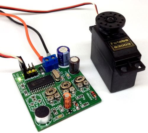 Sound to RC Servo Driver