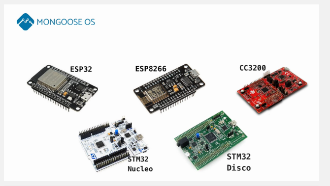 Mongoose OS Operating System for Connected Devices