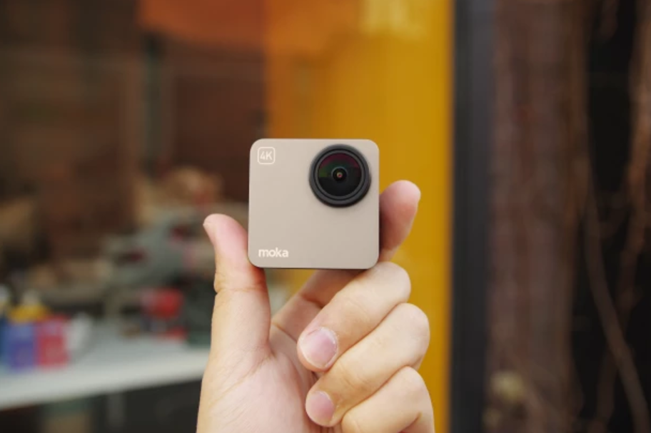 Mokacam Alpha, The World's Smallest 4K Camera