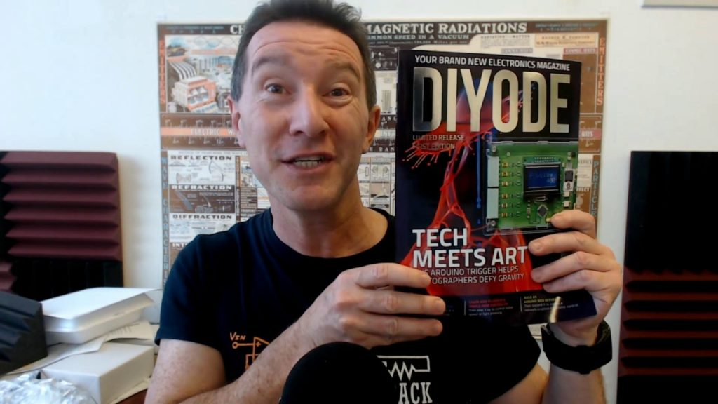 DIYODE—New Magazine for Electronics Enthusiasts
