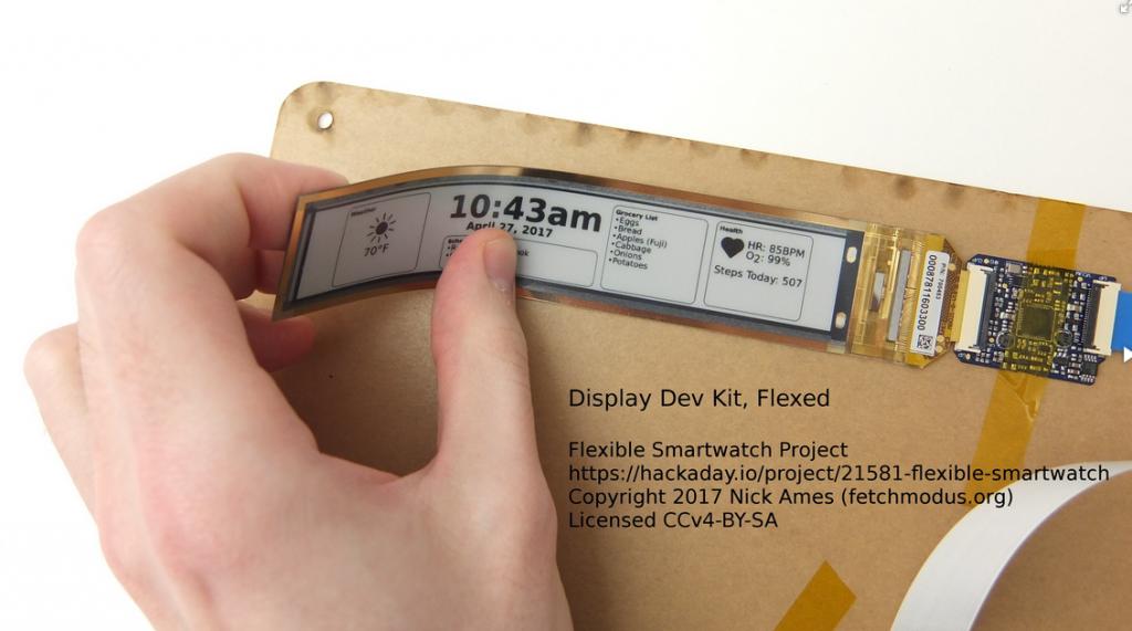 Flexible Smartwatch