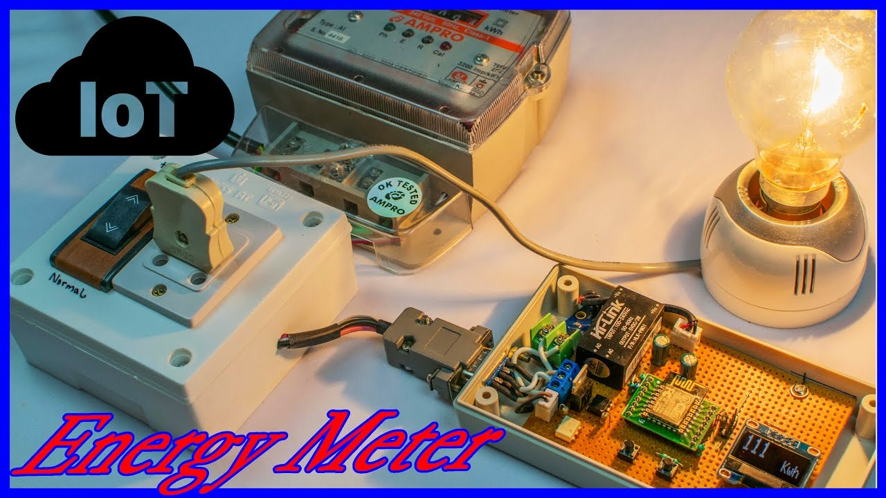 Household Power Consumption IoT Meter with Anti-theft ...