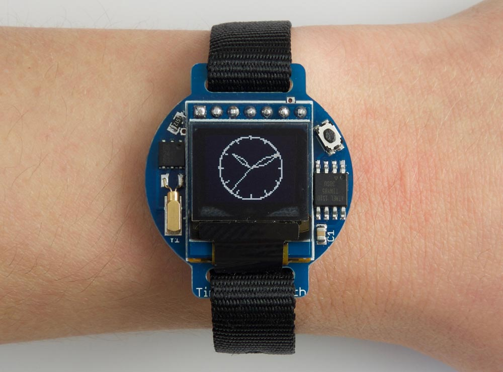 ATtiny85 Tiny OLED Watch