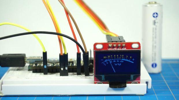 Digital UV-meter with OLED Display