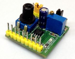 Pulse Generator For Stepper Controller Using AD654