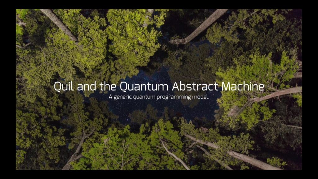 Build And Simulate Quantum Software Applications With Rigetti Forest 1.0
