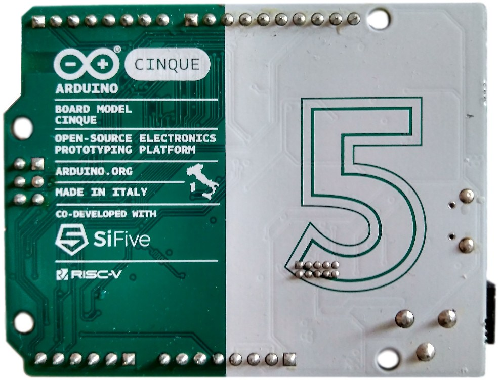 Cinque, Combining RISC-V With Arduino