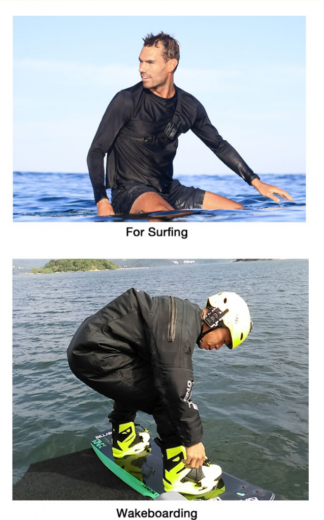 SeaTalkie keeps you SAFE during water sports