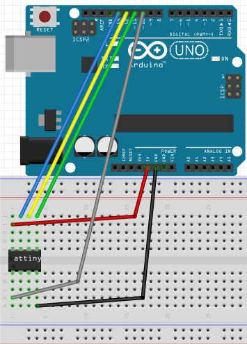 How To Program ATtiny13/ATtiny13a using Arduino IDE