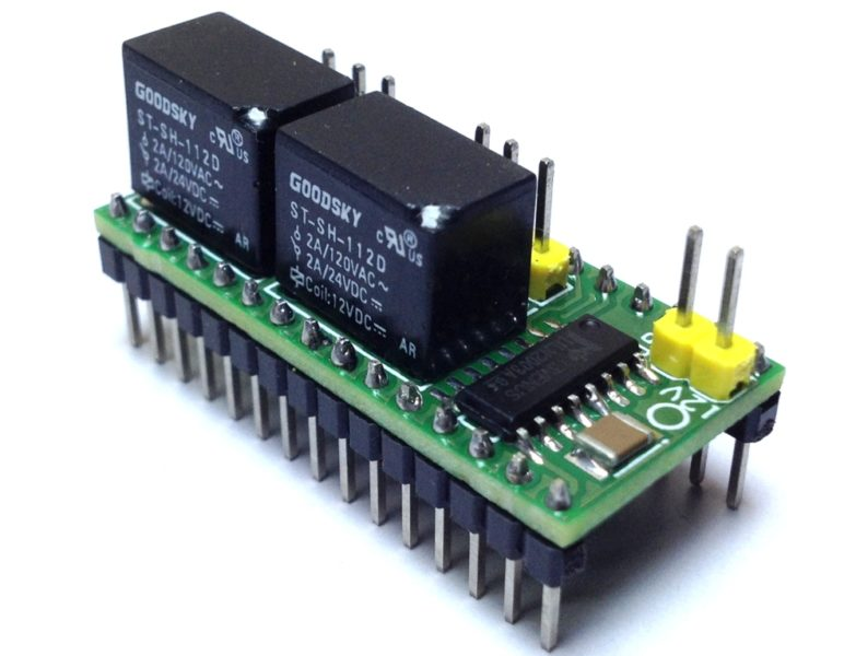2 Channel Relay Shield for Arduino Nano