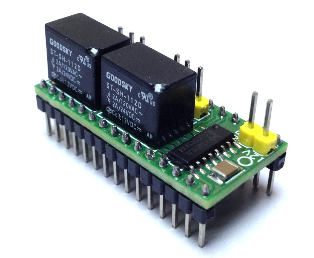 2 Channel Relay Shield for Arduino Nano - Electronics-Lab