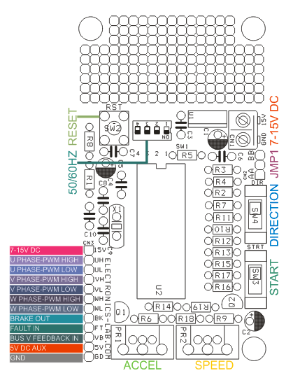 3 phase ac motor controller electronics lab rh electronics lab com