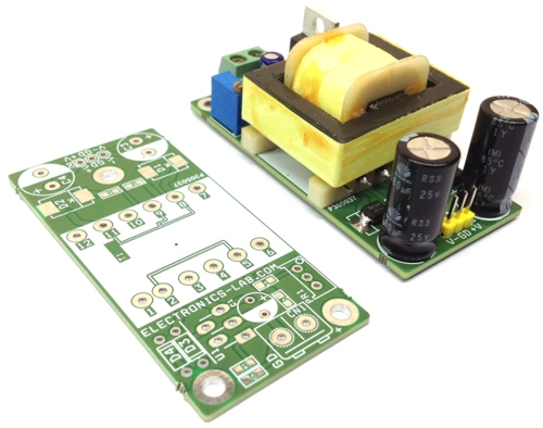 15V 1A Dual Output Flyback DC-DC Converter