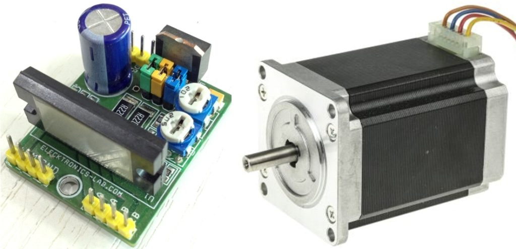 2 5a 2phase Micro Stepping Stepper Motor Driver