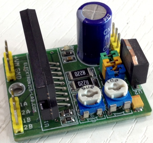 2.5A 2Phase Micro-Stepping Stepper Motor Driver