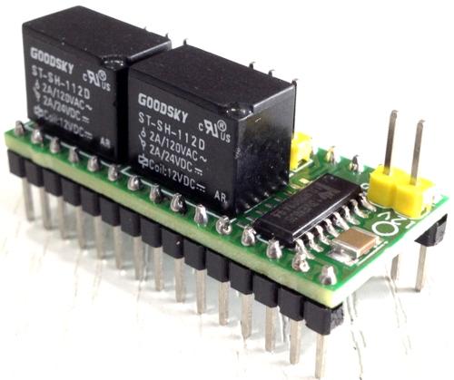 2 Channel Relay Shield for Arduino Nano