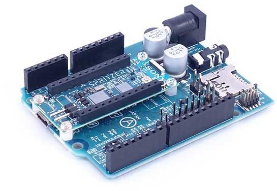 Meet Spritzer, Sony New Arduino