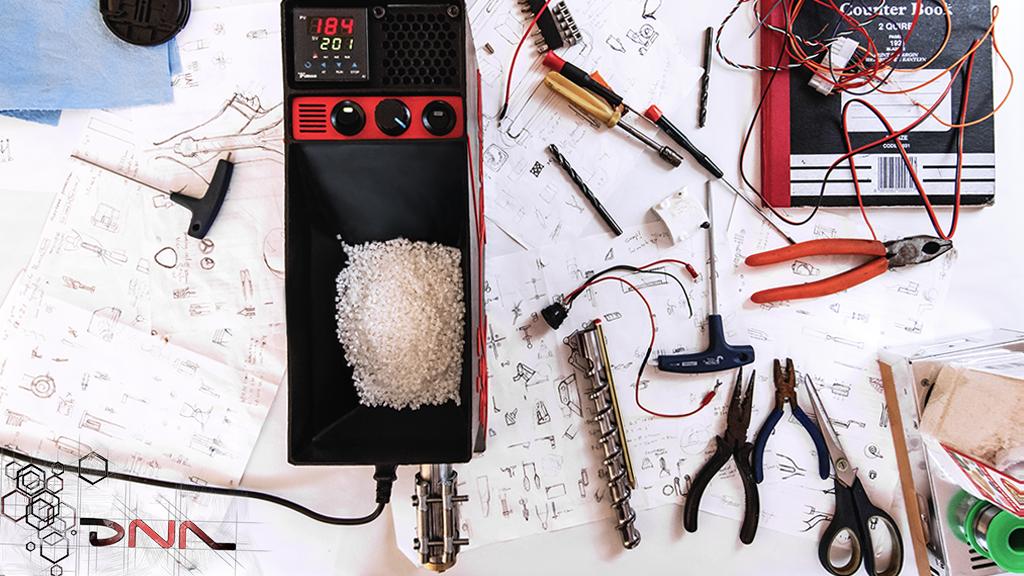 DNA Extruder – Fastest, Precision at Home Filament Extruder