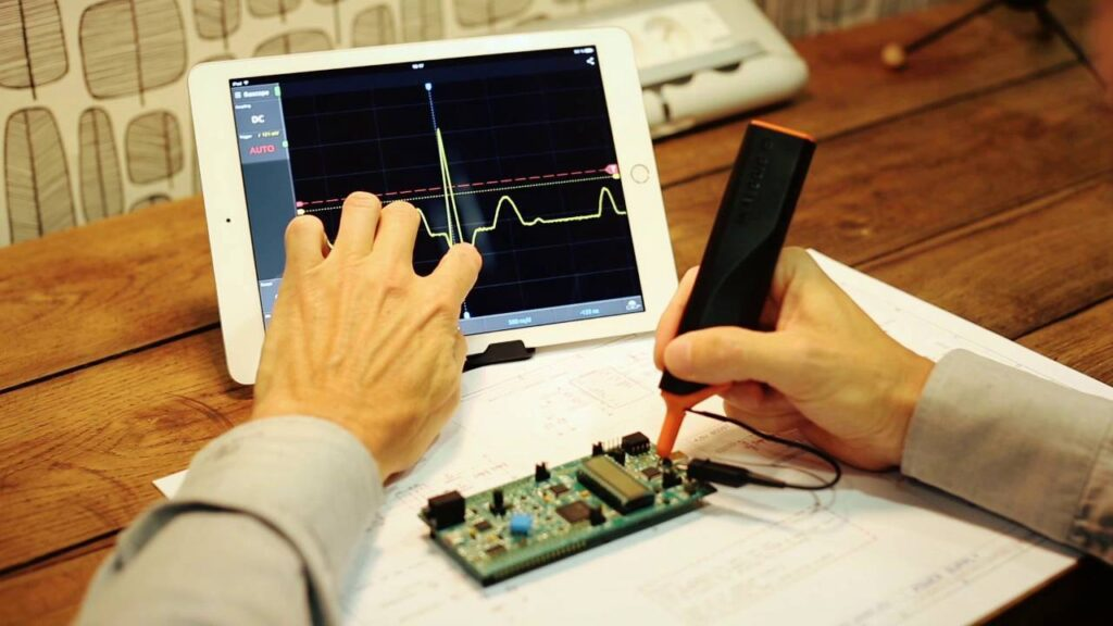wireless oscilloscope probe