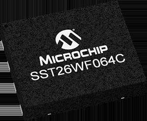 SST26WF064C – Low-voltage 64-Megabit SuperFlash® Memory Device From Microchip