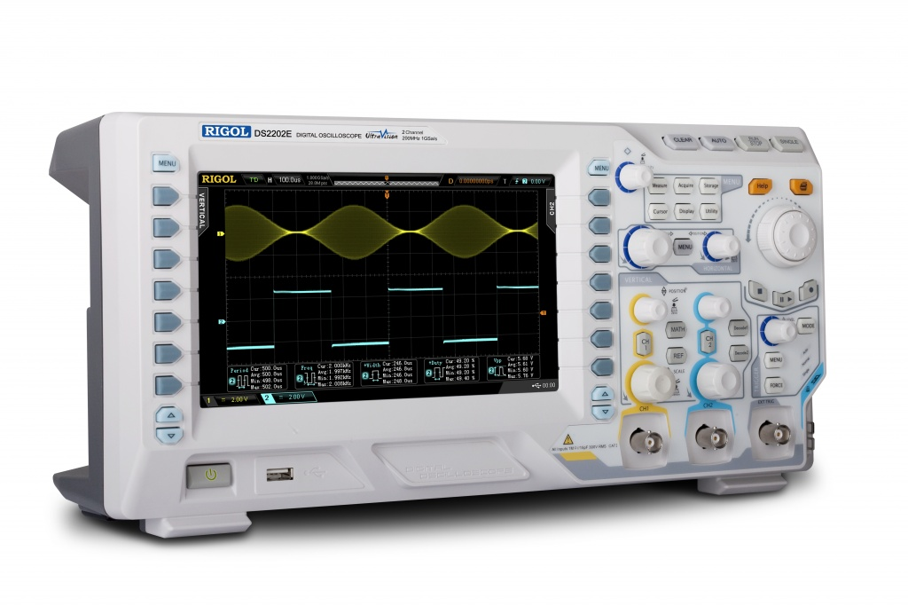 Rigol general-purpose 200MHz scopes from under €600