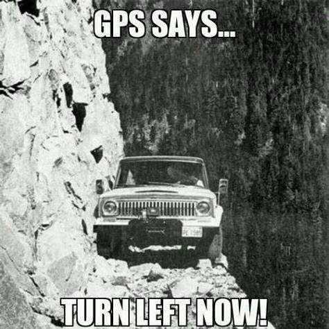 Gps-says….