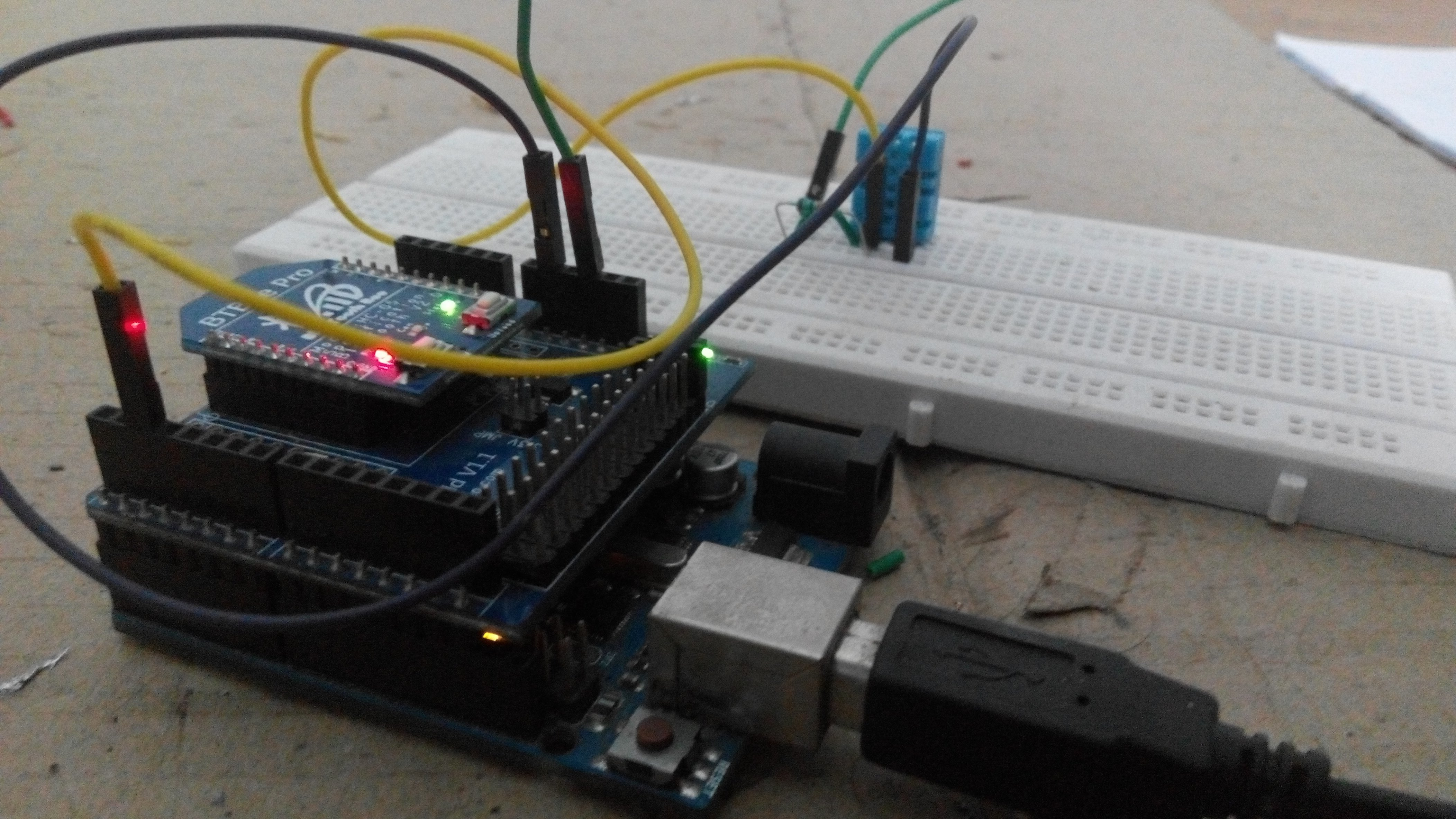 Get Sensor Data From Arduino To Smartphone Via Bluetooth