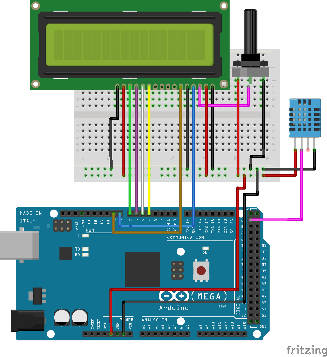 Arduino weather station using dht electronics lab