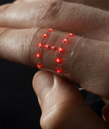A ring that is made using flexible conductingmaterial