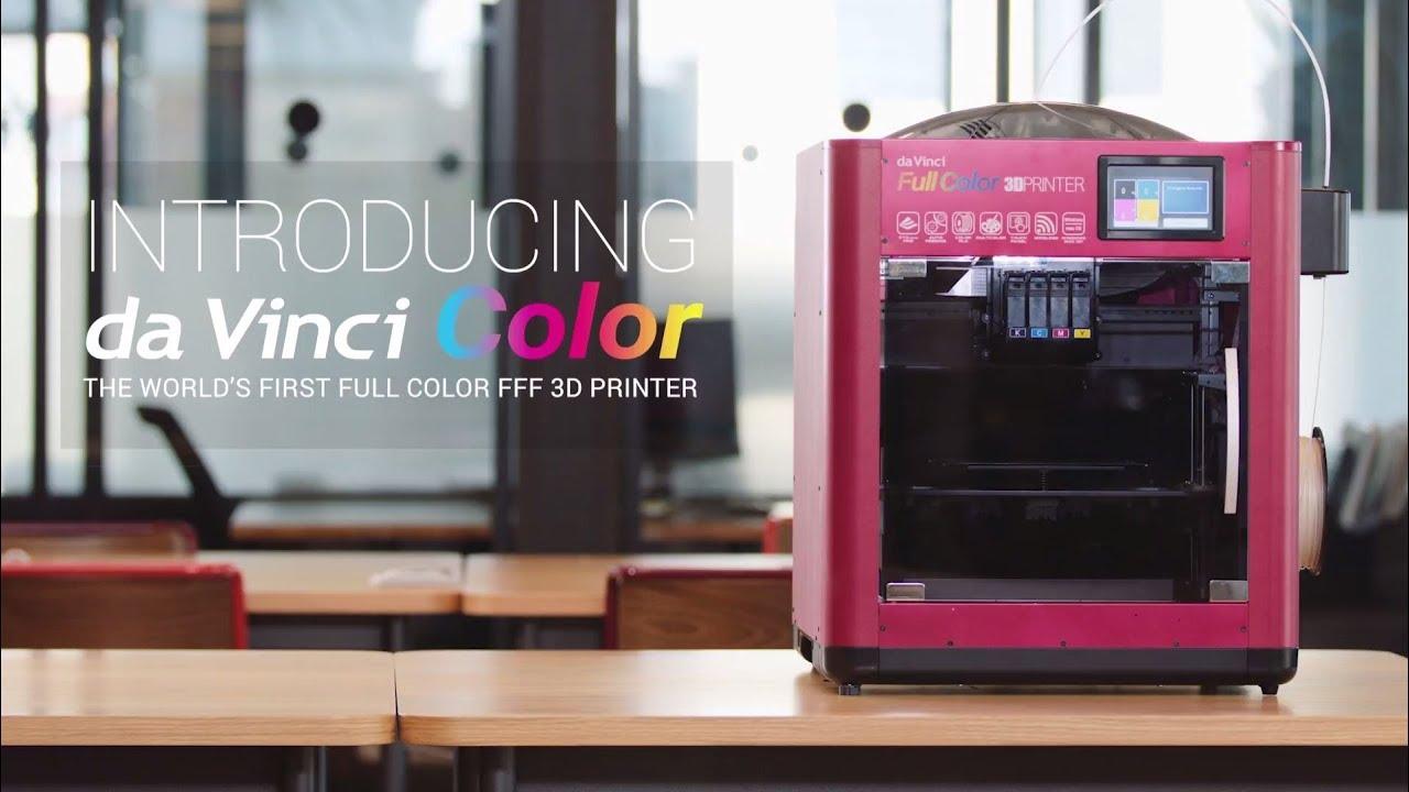 Da Vinci Color The First Full Color 3D Printer