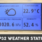 ESP32 WiFi Weather Station with a Nextion Display
