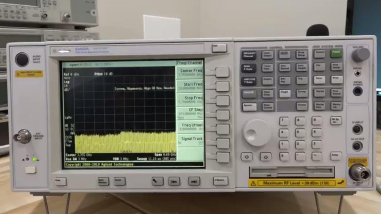 Teardown, Repair & Analysis of an Agilent E4443A 3Hz – 6.7GHz PSA Series Spectrum Analyzer
