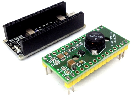 2 X AA Battery To 6V Boost Converter For Arduino Nano
