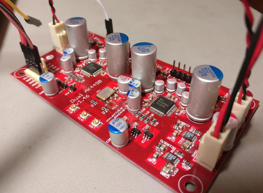 Arduino controlled Dual Mono AK4490 DAC (Part 1)