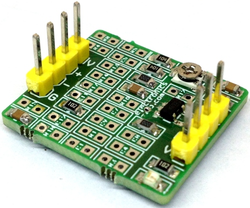 Universal OpAmp Evaluation Board Using LMV321